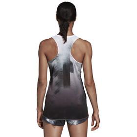 adidas Sub 2 - Camiseta sin mangas running Mujer - gris/blanco